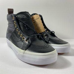 Vans Sk8-Hi MTE Pebble Leather Sneakers